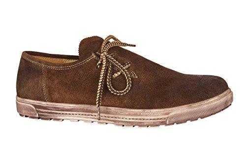 MADDOX Trachten Herren Schuh - WALBERLA - braun, Größe 41