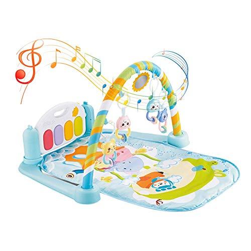Gym spielen baby klavier Musikinstrument Spielzeug Musical Teppich Touch Spiel Baby Musical Piano Playmat Matte Touch-Spiel Tastatur Gym Spielmatte für Kinder Taktile Hörentwicklung