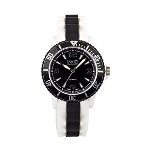 Eton 3014J-BK – Reloj analógico Unisex de Silicona Negro