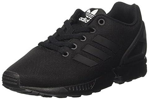 adidas Zx Flux, Unisex-Kinder Sneaker, Schwarz (Core Black/core Black/core Black), 39 1/3 EU