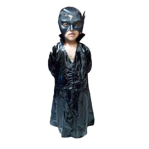 fancy Steps 7 to 8 yrs super hero Krish krrish fancy dress costumes for kids (overcoat,Mask And trouser)  available at amazon for Rs.740