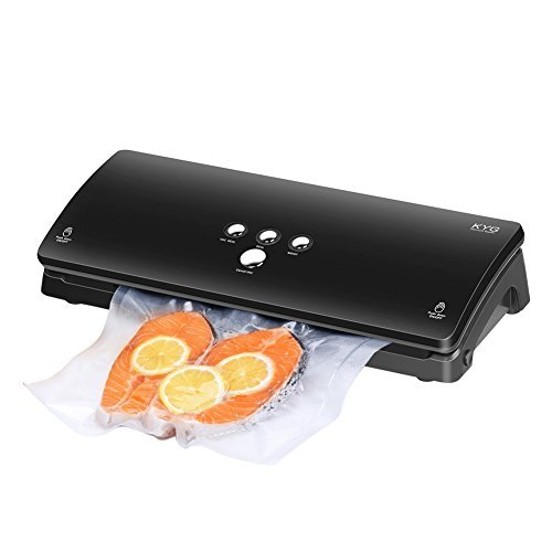 Macchina sottovuoto professionale sigillatrice automatica per alimento cibo secco e umido conservazione sottovuoto con 10 sacchetti in omaggio