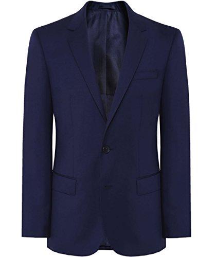 BOSS Hugo Boss Chaqueta de lana de Slim Fit Hayes EU48 / UK38 Azul Oscuro