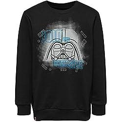 LEGO Wear Boy Star Wars-Cm-50121-Sweatshirt, Sudadera para Niños, Negro (Black 995), 152