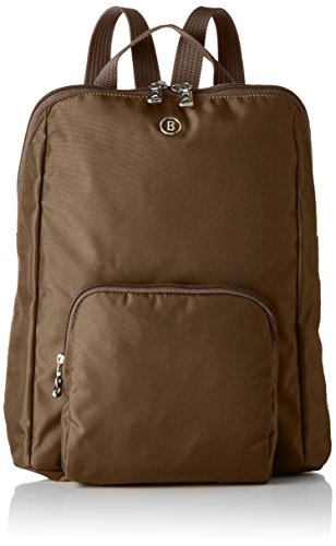 Bogner Damen Happy Biking Rucksack, 8x34x27 cm Braun (Brown Sugar)