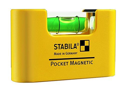 Preisvergleich Produktbild Stabila 17774 Wasserwaage Pocket Magnetic