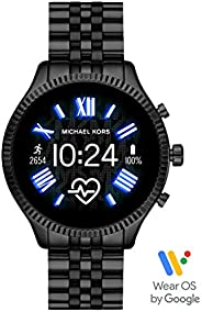 Michael Kors Gen 5 Lexington Women's Multicolor Dial Stainless Steel Digital Smartwatch - MKT
