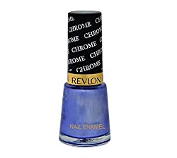 Revlon Nail Enamel, Blue Aqua Chrome, 8ml