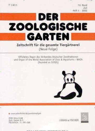 Der Zoologische Garten (in deutscher Sprache/in German) [Jahresabo]