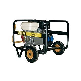 Ayerbe Generatoren Motor Generator–Movil AY5000Honda Benzin Boot manuell