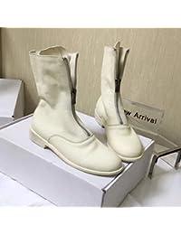 Blancas Para Eur 200 Amazon Mujer Qw7wvtuxp Es Zapatos Botas 100 RaqwCC