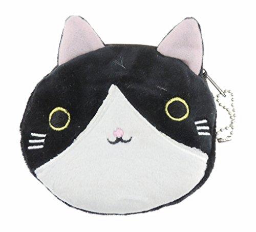 Adorable peluche de tacto suave redondo diseño de gato de gatitos y Pig Face de...