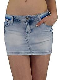 S&LU Angesagter Damen Jeansrock in topaktueller Waschung