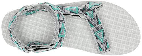 Teva - Original Universal M's, Sandali sportivi Uomo Grigio (Grau (967 mosaic grey))