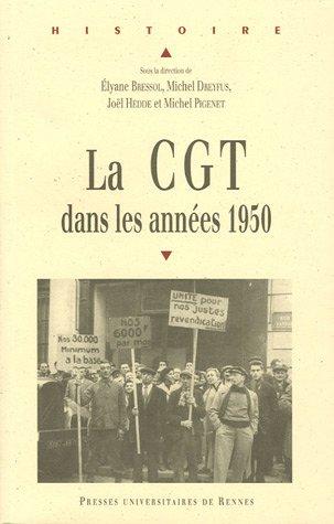 La CGT dans les annes  1950
