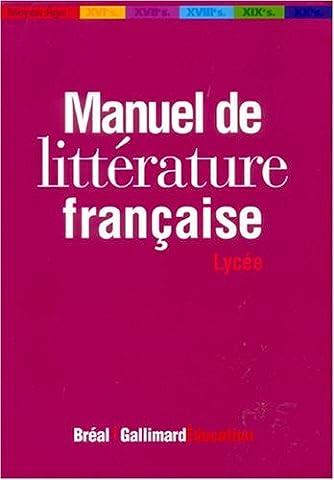 Dorian Astor - Manuel de littérature