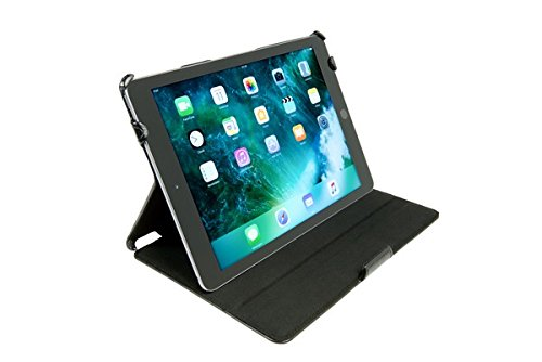 Gecko - Apple iPad (2017) Slimfit Cover, schwarz Gecko Guard