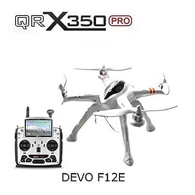 Paleo Walkera QR X350 Pro FPV GPS RC Quadcopter DEVO F12E+High Landing Skid by Beyond Paleo