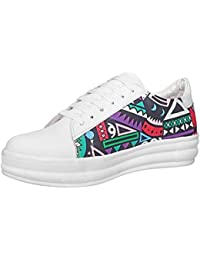 Maddy White Sneakers Shoes For Women's In Various Sizes