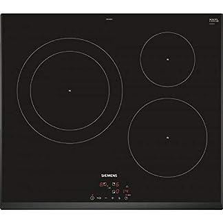Siemens EH651BJB1E hobs Negro Integrado Con – Placa (Negro, Integrado, Con placa de inducción, Vidrio y cerámica, 2200 W, 2600 W)