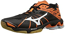 Mizuno Wave Lightning Z Women Us 10 Black Cross Training