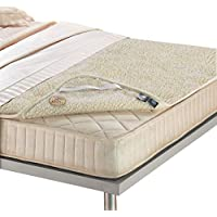 Funda de colchón doble de lana pura merinos