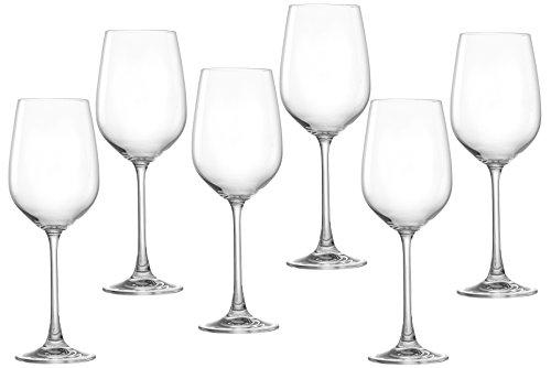 Ritzenhoff & Breker Weißweinglas-Set Samba, 6-teilg, Fassungsvermögen 360 ml