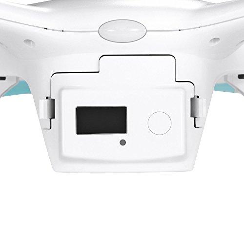 Ehang GHOSTDRONE 2.0 Aerial RC + Quadrocopter mit 3-Achsen Hochpräzisionsgimbal &4K HD Sports Actionkamera, iOS/Android APP Bedienung, 25 Min Flugdauer, Bis zu 1000m Sendebereich,Weiß - 7
