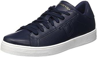 Trussardi Jeans 77S57153, Sneaker a collo basso Uomo, Blu, 44 EU
