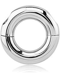 Anillo Segmento acero vissable–junco, eje 10mm, diámetro 15mm