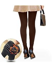 CCHOME Legging Elástica Térmicos Leggings Invierno para Mujer Pantalones Llevan Pelo Dentro