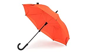 KAZbrella® - The Umbrella Reinvented/The Inside Out Umbrella (Curved Handle)