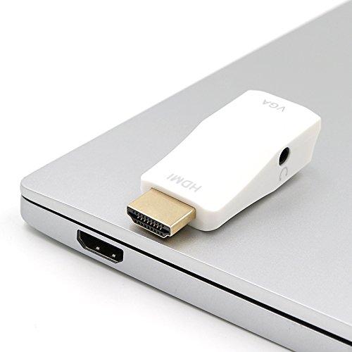 Zugriff Auf Video - (Hdmi High Definition Video-VGA-Konverter mit Audio für Notebook-PC Zugriff auf den Projektor anzeigen)