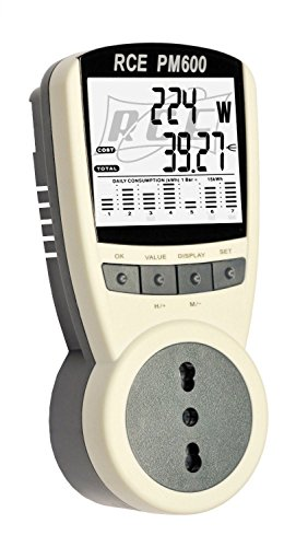 Misuratore Di Consumo Dell'Energia Elettrica RCE PM600 - Il modello...