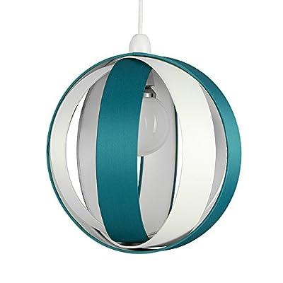 Modern Fabric Cocoon Globe Style Ceiling Pendant Light Shade by MiniSun