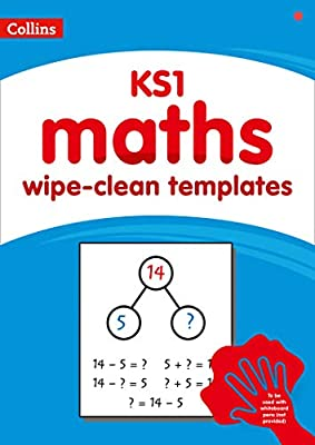 Collins – KS1 wipe-clean maths templates by Collins