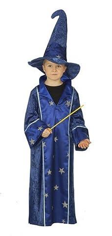 Rubies 1 2413 104 - Kostüm Zauberer 2- teilig Größe 104 (Halloween-kostüme Für Zwei Kinder)