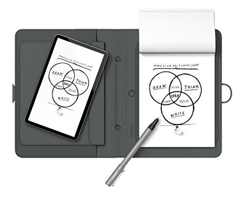 """Wacom CDS-600P Bamboo Spark Digitalizzatore di Appunti su Carta con Custodia, per Tablet Fino a 10"""", Grigio"""
