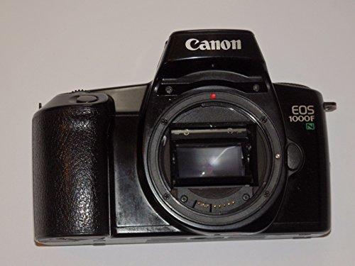 CANON EOS 1000 F N - Fotoapparat SLR - Farbe: schwarz - analoge Spiegelreflexkamera nur Body / Gehaeuse ## Technik getestet - ok - by LLL ##
