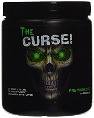 Cobra Labs The Curse 250 g/50 Servings Green Apple Envy Sports Supplements