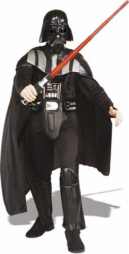 Rubies Deutschland 3 56077 XL - Deluxe Darth Vader Größe (Star Wars Darth Vader Deluxe Kostüm Herren)