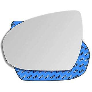 HIGHTECPL 0812LS Links Fahrerseite Spiegelglas Außenspiegel