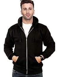 T.N.X Men's Cotton Hooded Sweatshirt