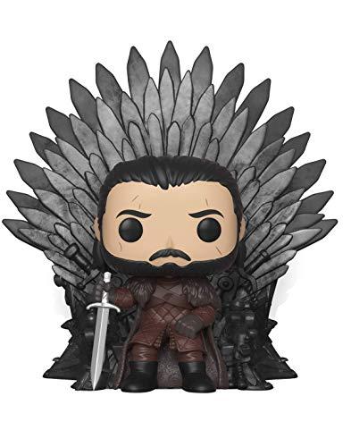 Jon Snow Sitting on Iron