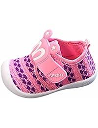 Bebé Niña Niño Primeros Pasos Zapatos Sandalias DRESS_start ®Zapatos de Dibujos Animados para Bebés de