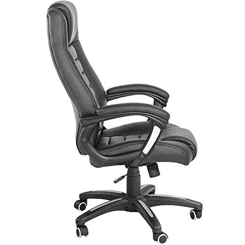 Luxus chefsessel  TecTake Luxus Chefsessel Bürostuhl mit sehr hochwertiger ...