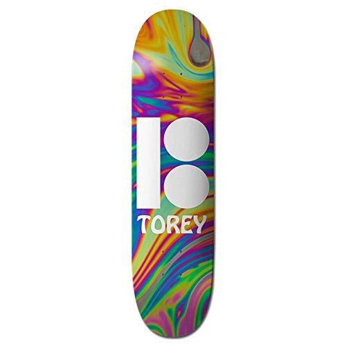 Plan B Pudwill Wavy Skateboard - 8.125 inch Skateboard Deck 8.125 inch Multicolour (Plan B Skateboards Pudwill)
