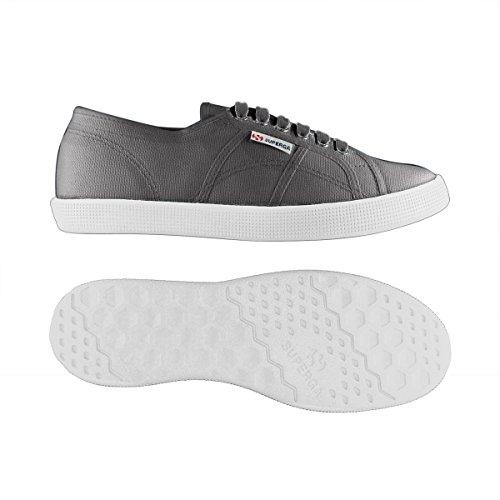 Superga 2832 Nylu, Sneakers Basses Unisexe adulte GRAY DK SAGE