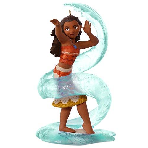 Hallmark Keepsake 2017Disney Aladdin 25. Jahrestag Weihnachten Ornament mit Musik Moana mehrfarbig (Animated Tree Christmas Ornament)