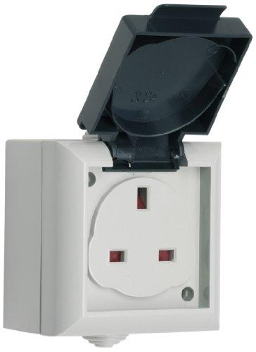 smj-ep13sb-ip54-13a-outdoor-power-uk-single-socket